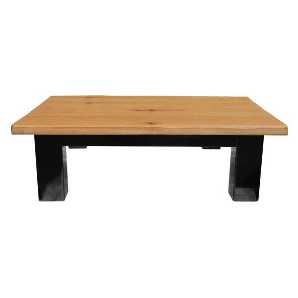 Large Square Oak Coffee Table