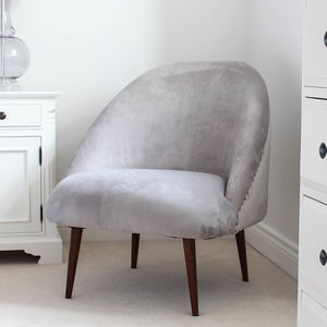 leather chairs of bath london accent recliner unusual and statement armchairs notonthehighstreet com grey velvet tub chair furniture