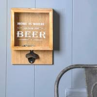 wall mounted wooden beer bottle opener by dibor ...