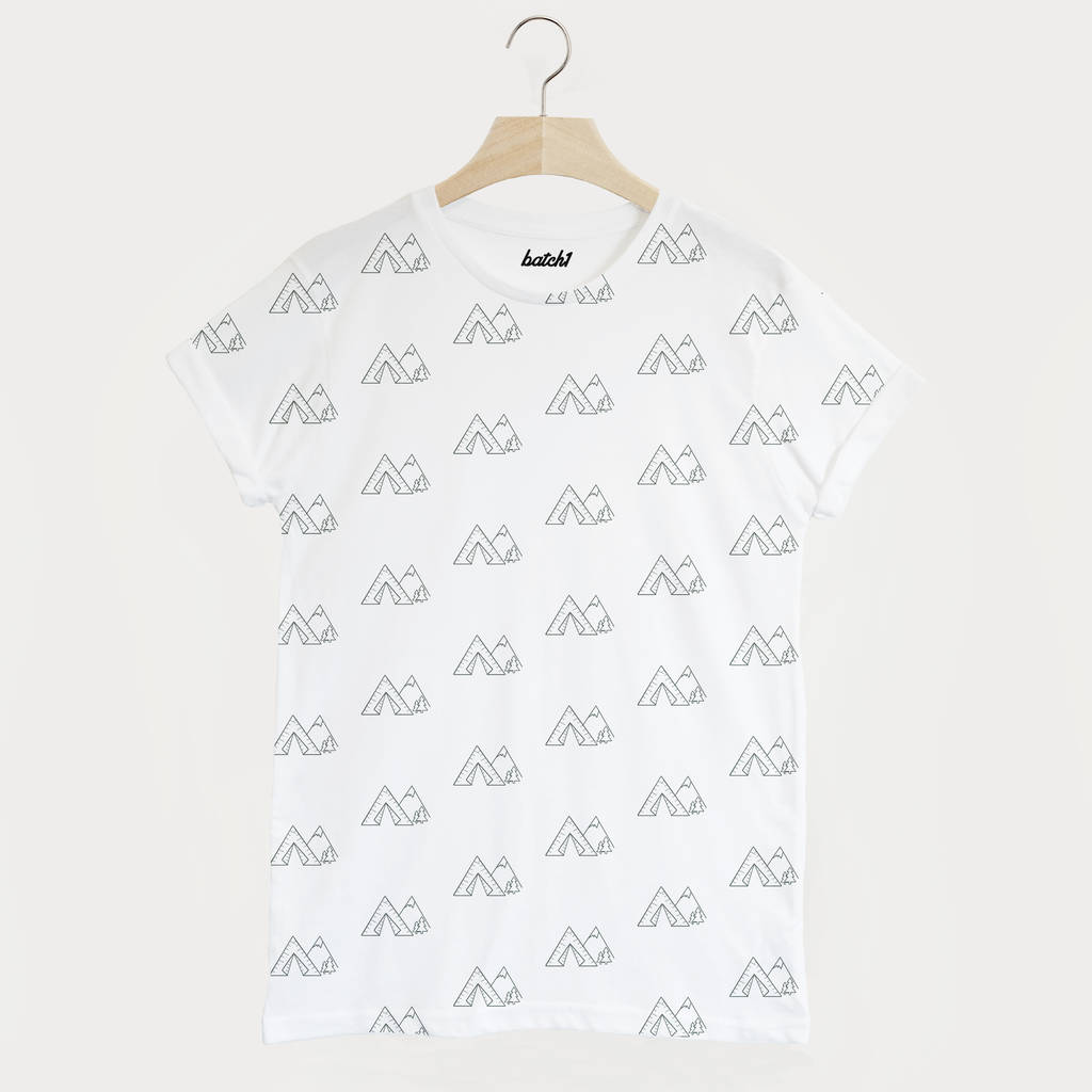 Tents All Over Print Men S Summer Camping T Shirt By