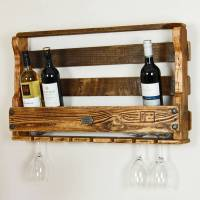 wooden wine rack by storywood | notonthehighstreet.com