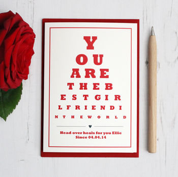 Personalised Best Girlfriend Card By Precious Little