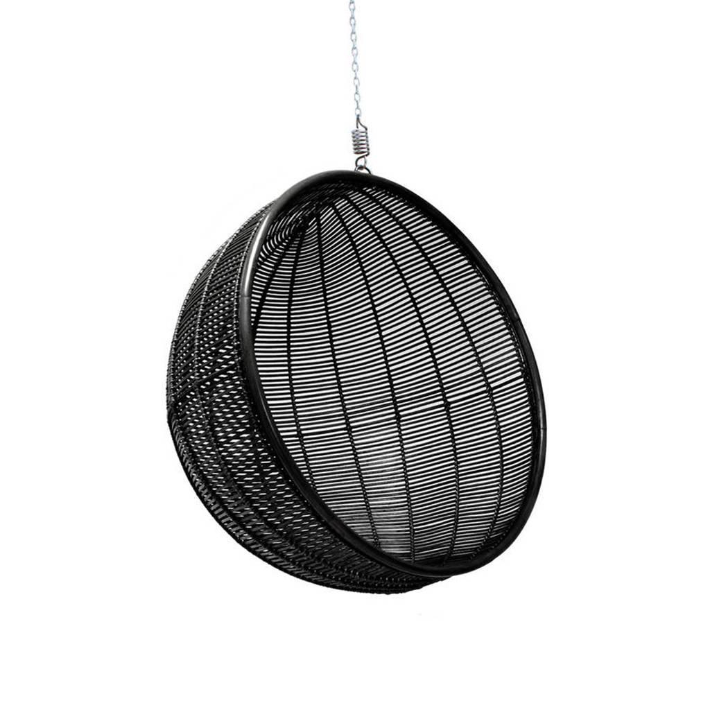 hanging chair notonthehighstreet kitchen chairs cheap bali ball rattan inside outside living by