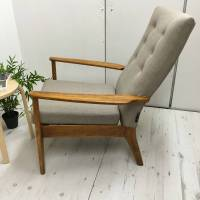 retro vintage classic parker knoll armchair by jeremy bull ...