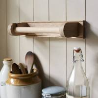 oak kitchen towel holder by brush64 | notonthehighstreet.com