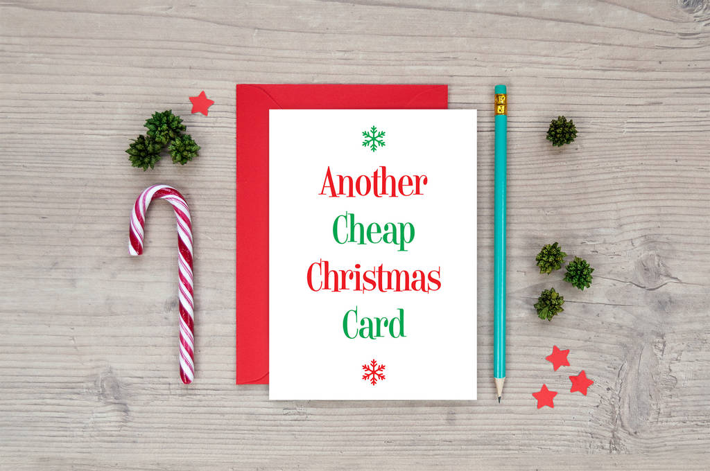funny christmas card another