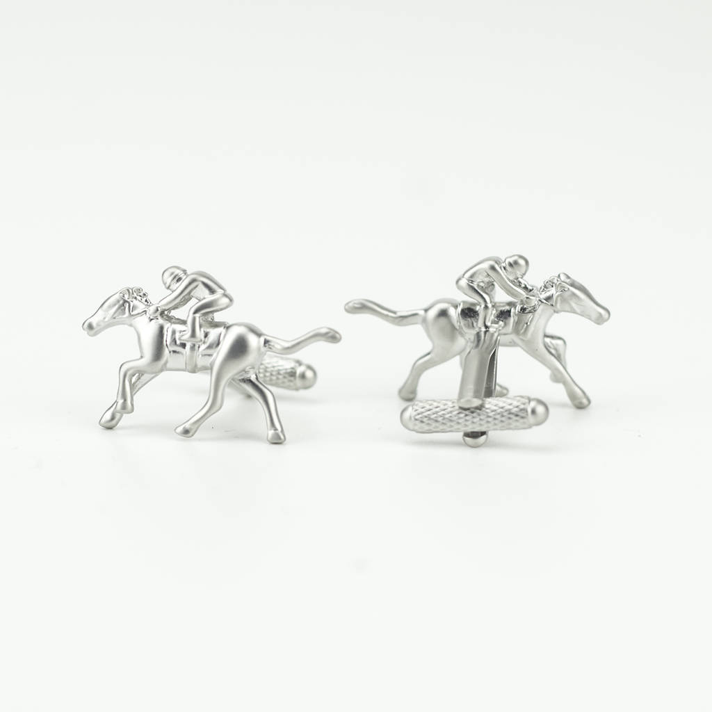 Horse Racing Cufflinks By We Love To Create