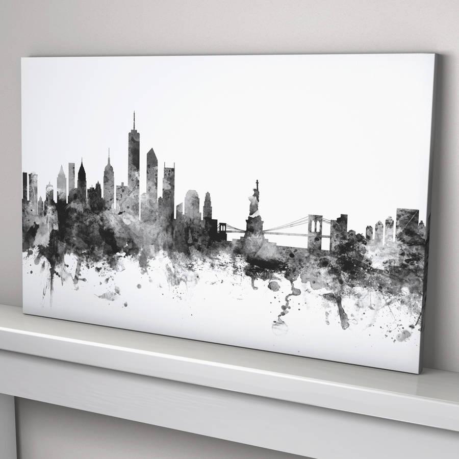 new york skyline cityscape