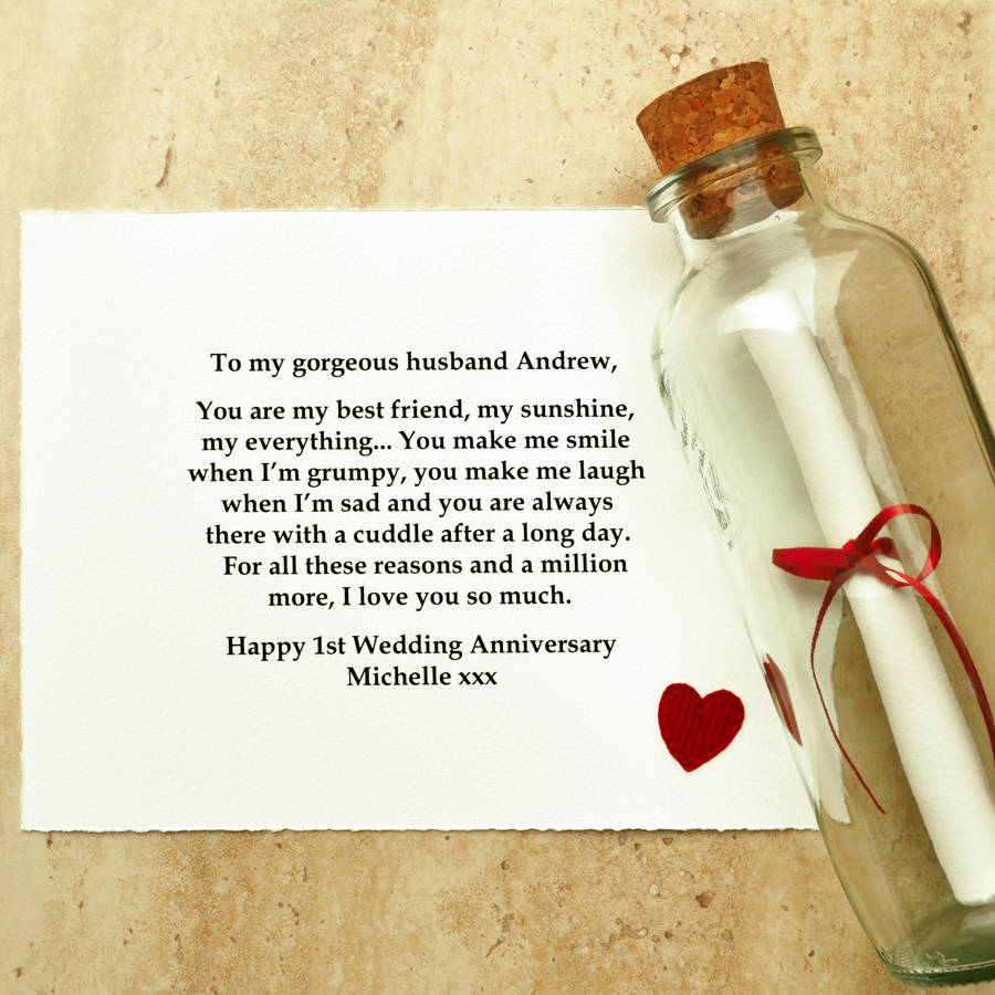 'best Friend' Paper First Wedding Anniversary T By