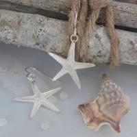 sterling silver starfish earrings by caroline brook ...