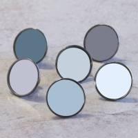 grey colourful cupboard door knob drawer handles by pushka ...