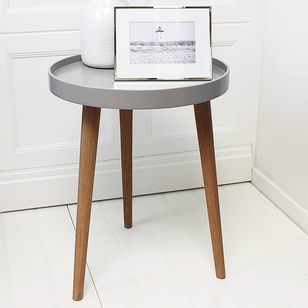 henry grey side table by marquis  dawe