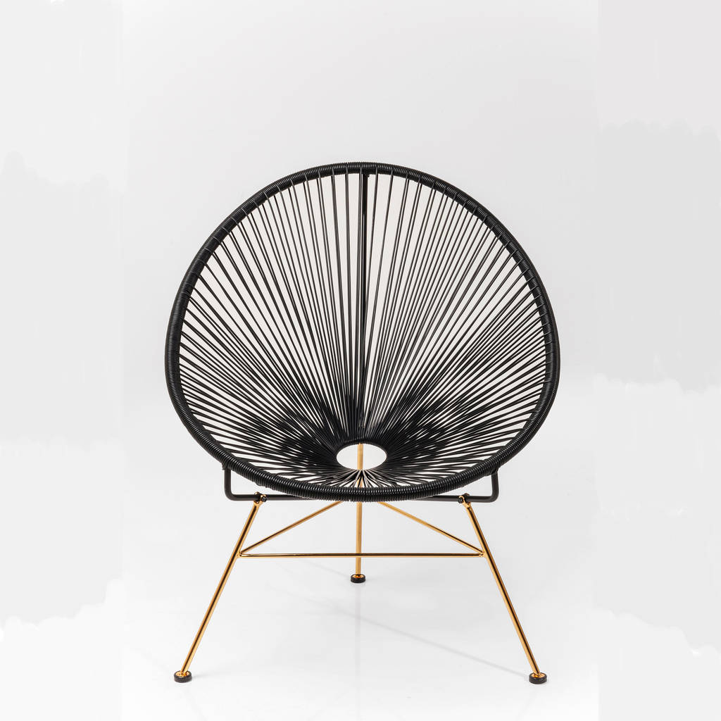patio string chair back support office chairs uk acapulco metallic by i love retro