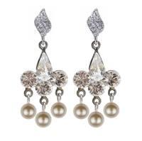 antique style rhinestone chandelier earrings by katherine ...