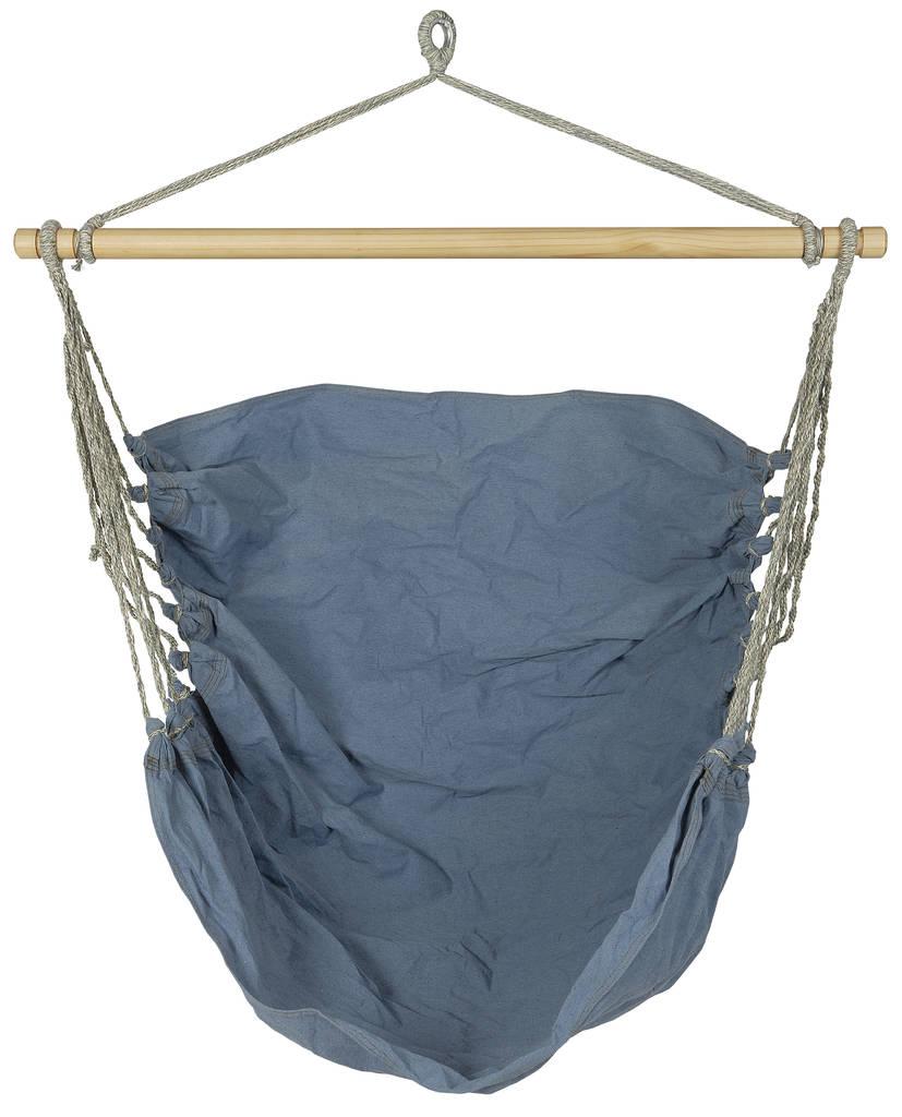 hanging chair notonthehighstreet electric recliner rental handmade denim hammock by ella james com