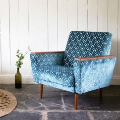 Blue Green Chair Massage Chairs For Less Unusual And Statement Armchairs Notonthehighstreet Com The New Santiago Major Vintage Style Armchair