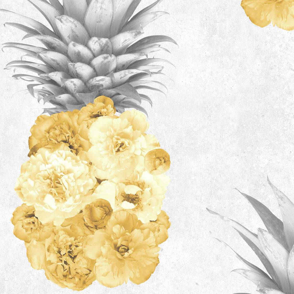 Cute Wallpapers Of Pineapples Ludic Pineapple Wallpaper By Woodchip And Magnolia By