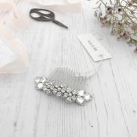 flower wedding hair comb by britten weddings ...
