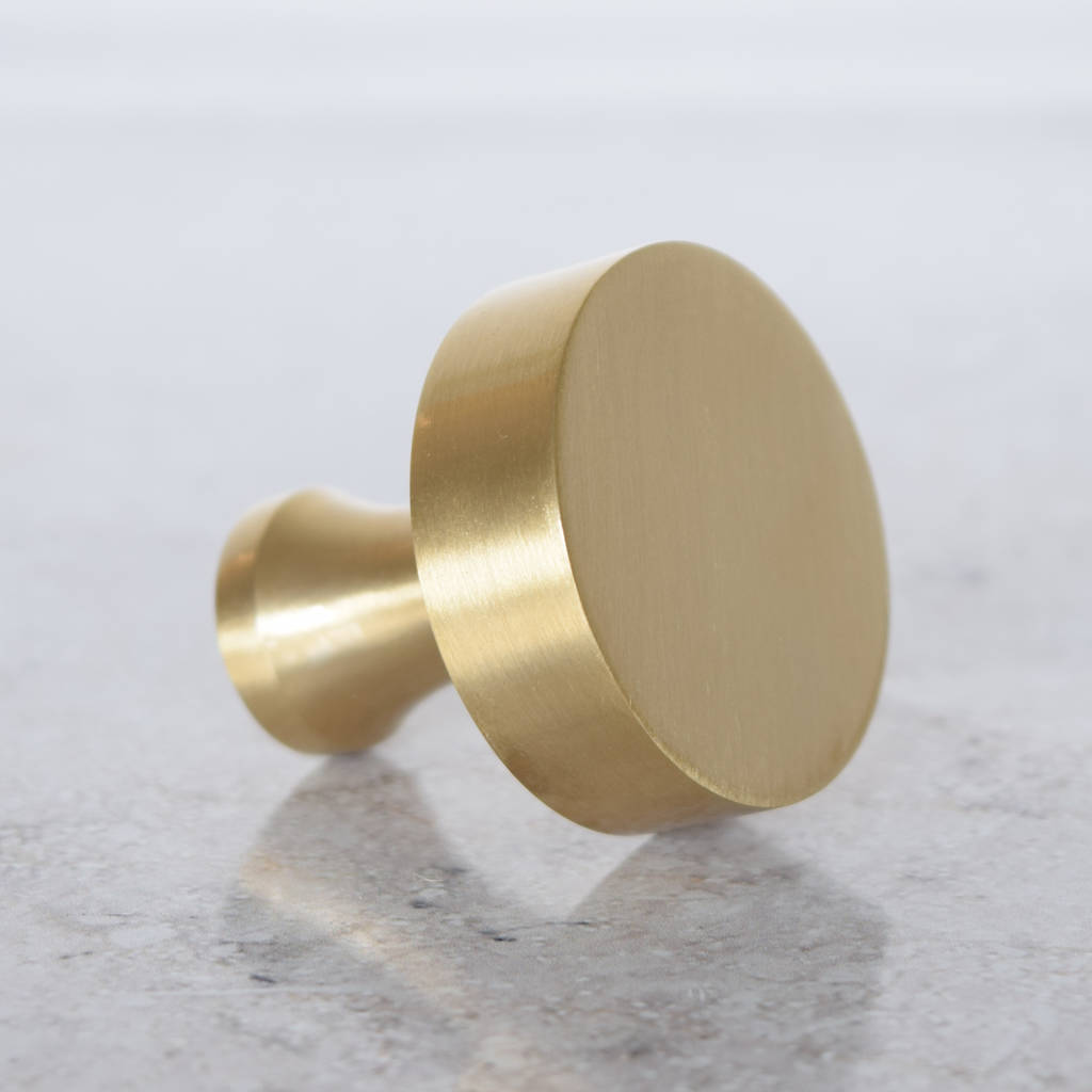 gold kitchen hardware home depot canada faucets modern brass cupboard door knobs by pushka