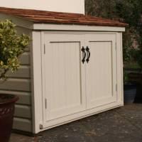 patio storage cabinet by the handmade garden storage ...