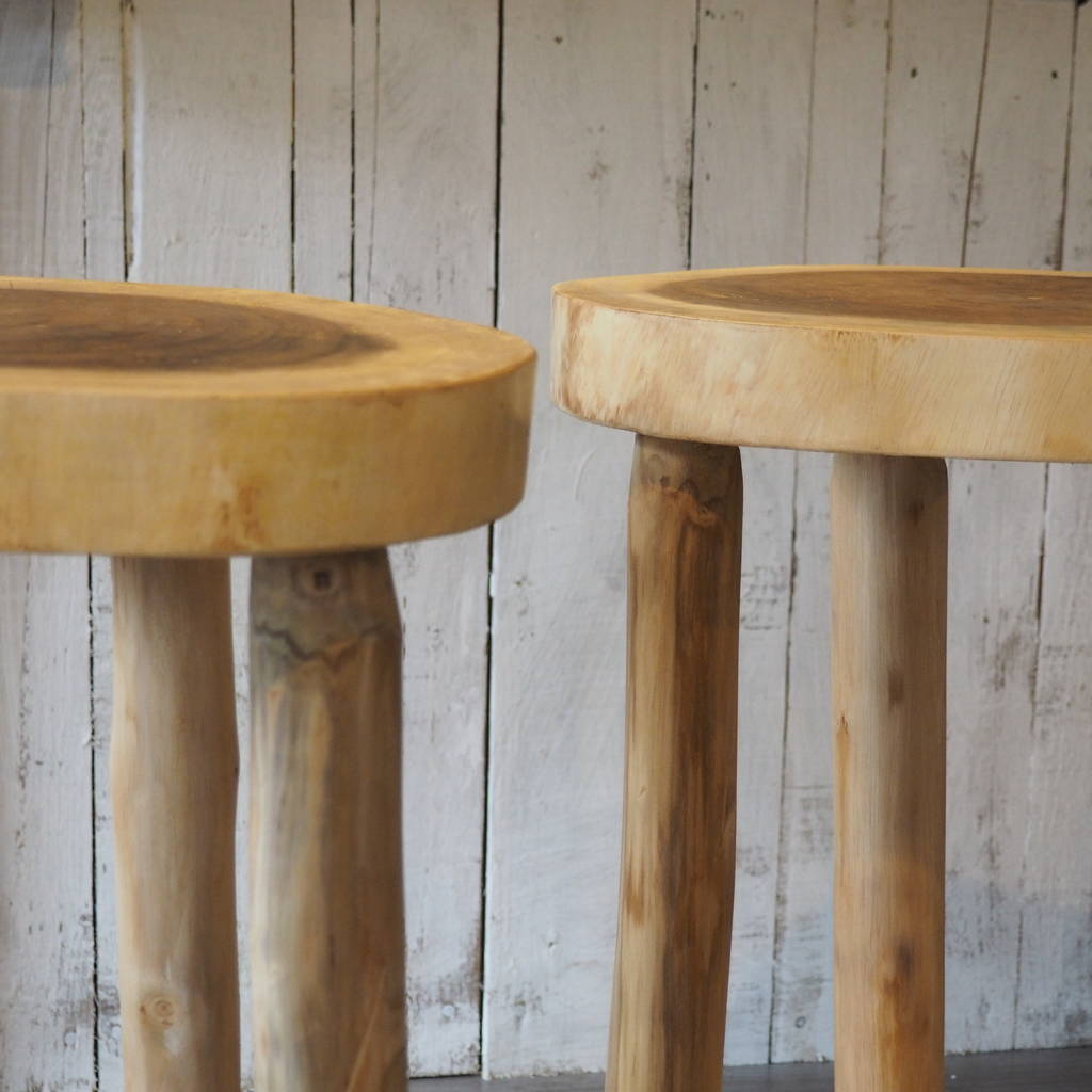 wooden kitchen stools best appliance brands stool two sizes by za homes