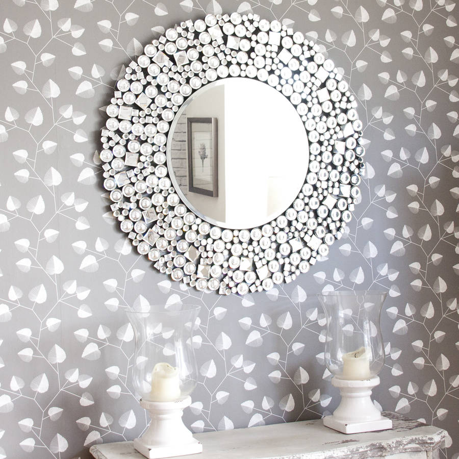 Beyonce Venetian Round Mirror By Decorative Mirrors Online