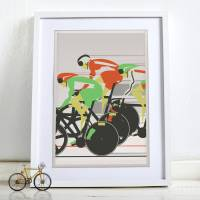 Cycling Wall Art | www.imgkid.com - The Image Kid Has It!