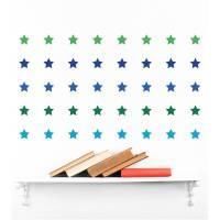 small star wall stickers by mirrorin | notonthehighstreet.com