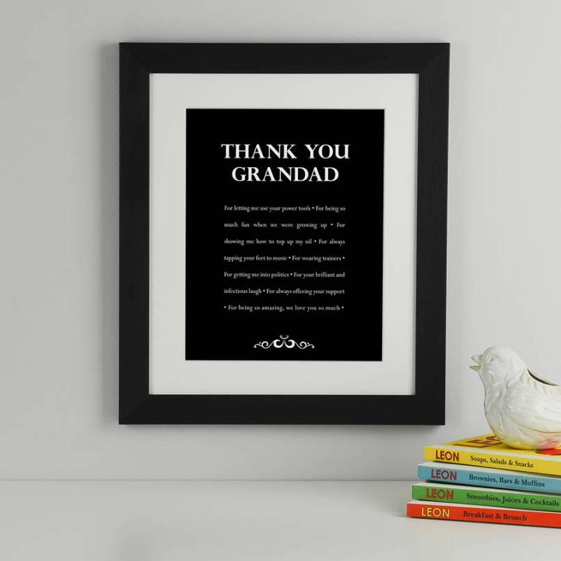 We Love Grandad Picture Frame | Frameswalls.org