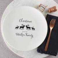 personalised family christmas plate by twenty-seven ...