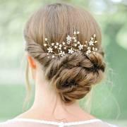 bridal hair pins wild blossom