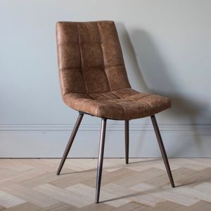 leather chairs of bath london white shell unusual and statement armchairs notonthehighstreet com dixie brown chair