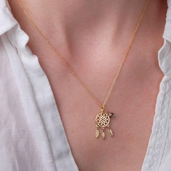 Personalised Dreamcatcher Necklace Penelopetom