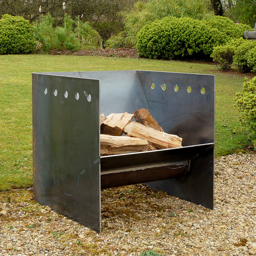 superchunk welded steel fire pit by magma firepits