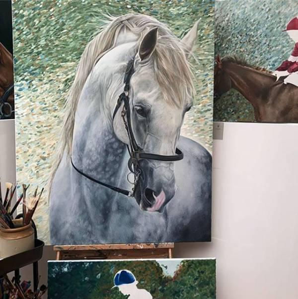 Horse Art Prints Canvas