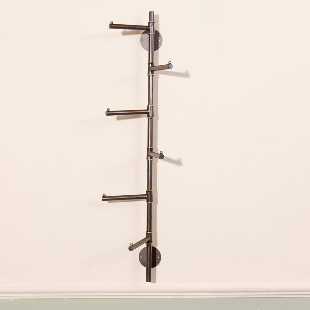 wall mounted industrial coat rack by dibor