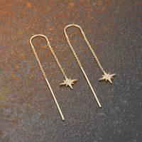 starburst threader earrings by scream pretty ...