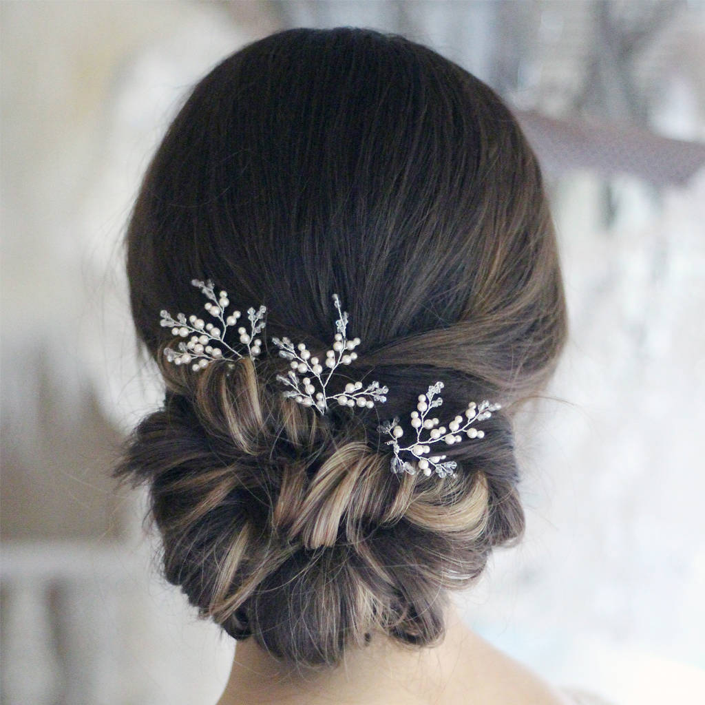 Bridal Hair Accessories Diamante Fade Haircut