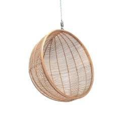 Hanging Chair Notonthehighstreet Posture Right Rattan Ball In Natural By Out There Interiors Com