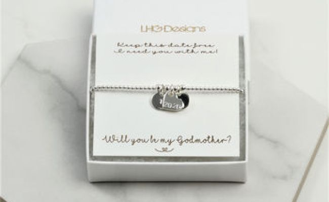 Will You Be My Godmother Bracelet Gift For Her By Lhg