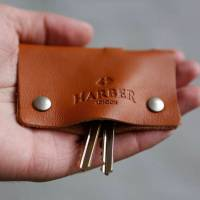 leather key holder case by harber london ...