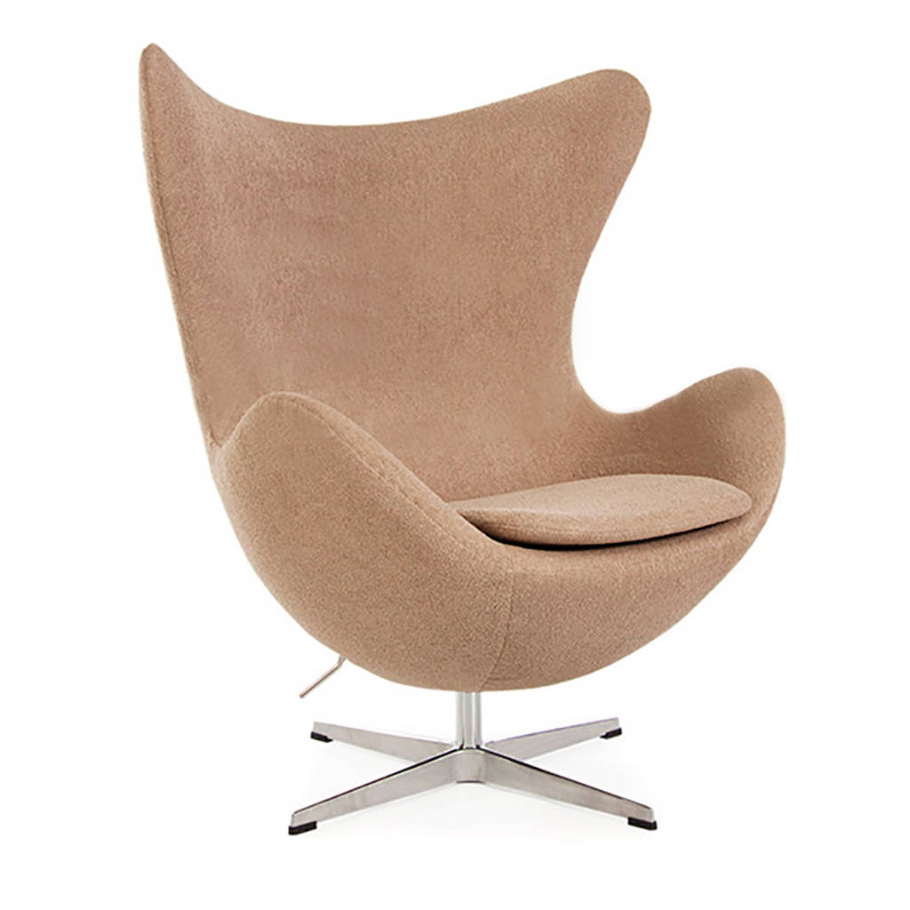 high chair egg swivel glider recliner armchair cocoon style modern arm by cielshop