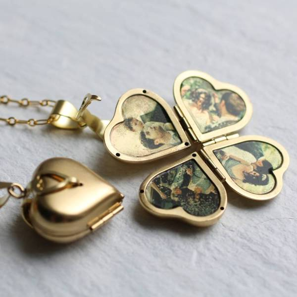 Friends And Family Locket Silk Purse Sow' Ear