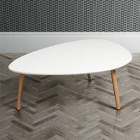 mid century white oak coffee table by i love retro ...