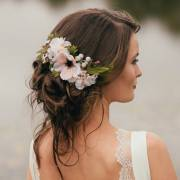 annabelle flower hair comb gypsy