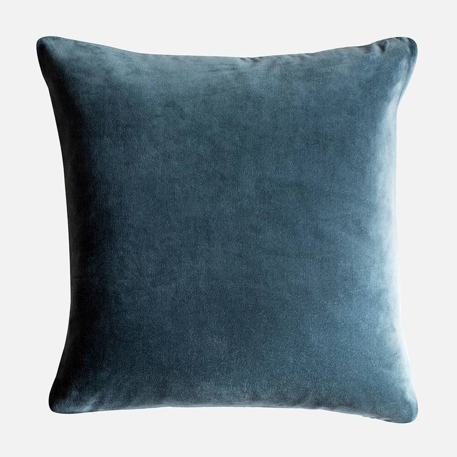 velvet cushions by home address  notonthehighstreetcom