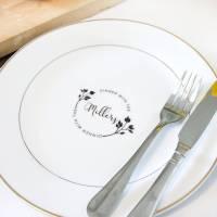 Personalised Dinner Plate