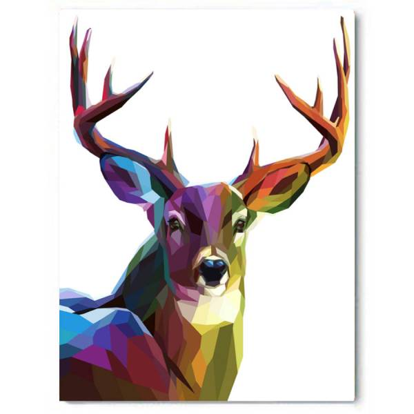 ' Deer Canvas Art Beach Lane