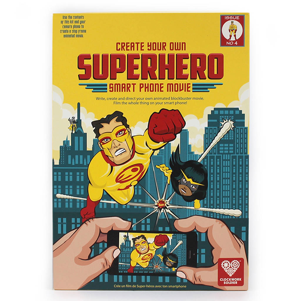 Create Your Own Superhero Smartphone Movie By Clockwork