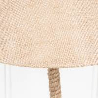 nautical jute rope table lamp with shade by dibor ...